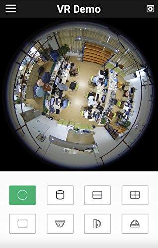 Cantonk IPDE20H600 - Panoramic 360° fisheye camera, Ultra HD