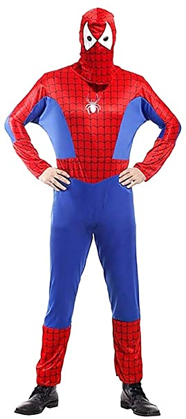 KIRALOVE Disfraz de Spiderman - Spiderman - Disfraces - Halloween ...