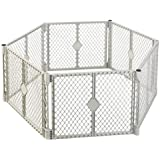 NORTH STATE IND 8666 Grey 6 Panel Play Gate