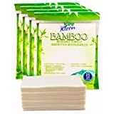 Eco-Friendly Reusable Bamboo Towels 32-Count - Heavy Duty Cleaning Wipes, Washable, Bleachable - Reduces Household Wastes, Replaces Weeks of Disposable Paper Towels