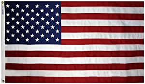 Annin Tough-Tex Woven Polyester Replacement Flag, High Winds 4 by 6 Foot Size: 4 by 6 Foot Outdoor, Home, Garden, Supply, Maintenance