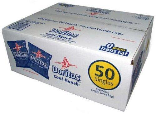 Doritos Cool Ranch Chips - 50/1 oz. Bags by Doritos