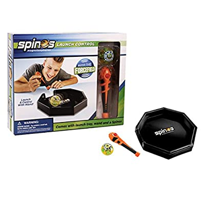 Diggin Spinos Launch Control - Power Wand Connects to Magnetic Force Field: Toys & Games