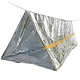 Emergency Shelter + Sleeping Bag + Blanket for Camping Hiking