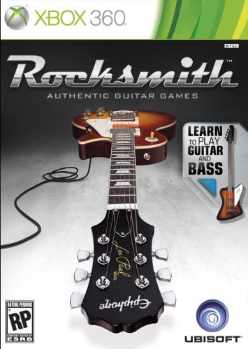 Rocksmith for Guitar and Bass (Game software only) (No cable