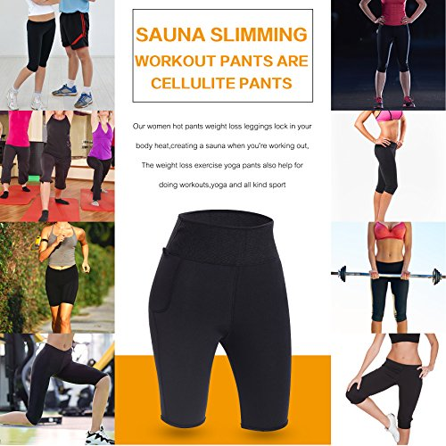 3431a3780 TAILONG Best Women Weight Loss Pants Neoprene Exercise Leggings Sauna Suit Body  Shaper Hot Sweat Thermo