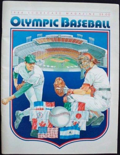 OLYMPIC BASEBALL, 1984 SCORECARD MAGAZINE