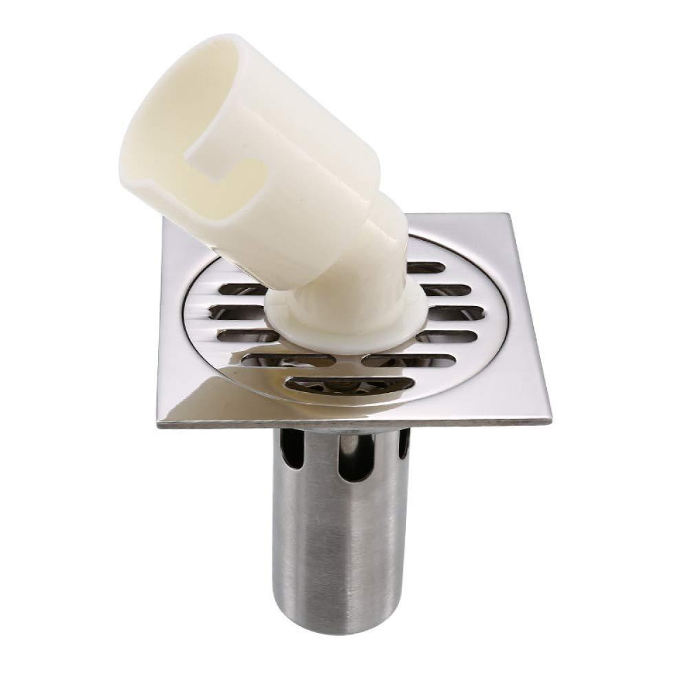 Ysuing Drain de Plancher de Douche Plancher d/éodorant de Toilette INOX vidange Machine /à Laver /épaississement Anti colmatage Drain de Plancher