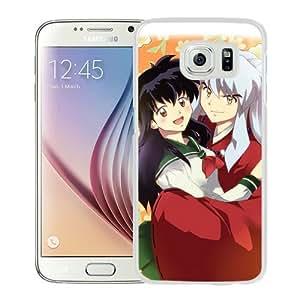 Samsung Galaxy S6 Case ,InuYasha 16 White Unique And Beautiful Custom Designed Phone Case