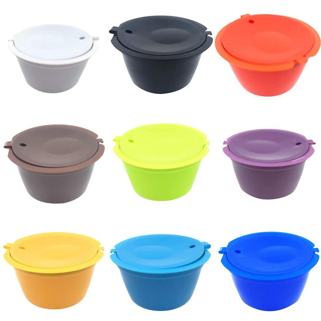 gzzebo Cápsulas de Café Cup reutilizables filtro para Nescafe ...