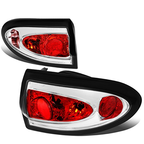 Cavalier Pair Chrome Housing Altezza Style Tail Light Brake/Parking Lamps ()