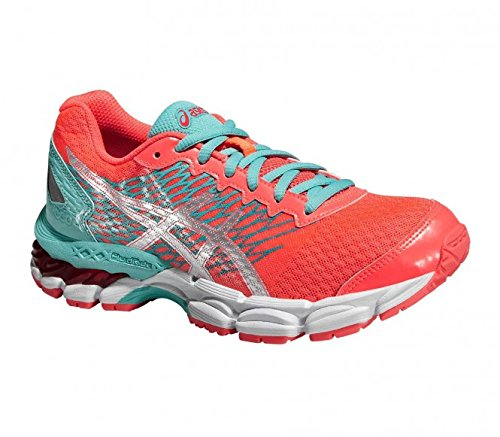 Zapatilla running Asics Gel-Nimbus 18 GS - 47441 diva pink/silver/pool blue