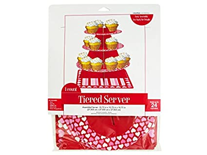 Amazon.com   Sweet Hearts Tiered Server Home Kitchen Furniture Decor ...