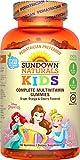 Sundown Naturals Kids Disney Princess Complete Multivitamin, 180 Count For Sale