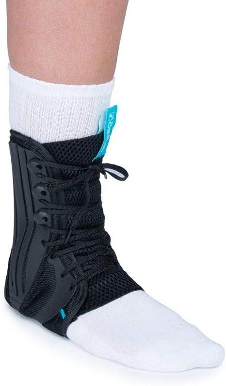 Swede-O Strap Lok Ankle Brace Latex Free Non-Stretch Nylon