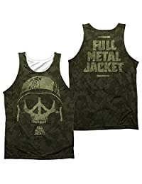 Tank Top: Full Metal Jacket- War For Peace (Front/Back)
