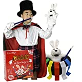 BrilliantMagic Kids Magician Role Play Set BMM006 Dulexe Magic Tricks Kit for Kids