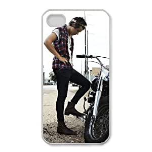 iphone4 4s phone case White for one direction fabulous magazine - EERT3409432