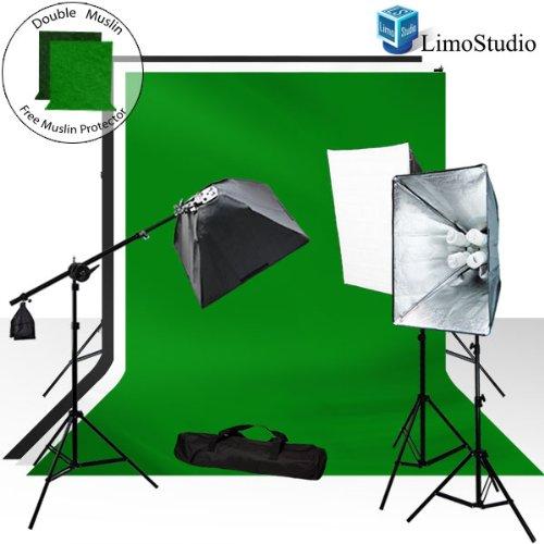 Limo3Pcs Chromakey Backdrops Lighting Portrait
