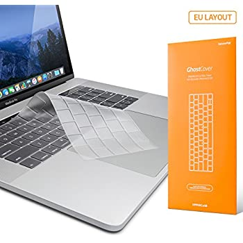 UPPERCASE GhostCover Pop Premium Ultra Thin Keyboard Protector MacBook Pro 2016+