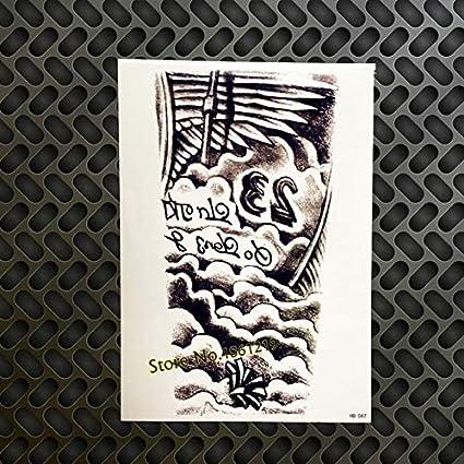 HXMAN 3 Unids El Mono Rey Temporal Tatuaje Pegatinas Hombres Gqs ...