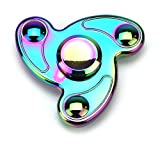 Full Metal Neo Chrome Waves Toy Fidget Spinner, Great for Anxiety, Focusing, ADHD, Autism, Quitting Bad Habits, Staying Awake