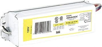 Advance RLQ-122-TP 120V//60Hz Ballast for 22 or 20 Watt Rapid Start Circline Lamp