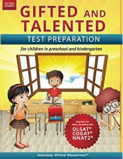 Amazoncom Gifted And Talented Cogat Test Prep Gifted Test Prep