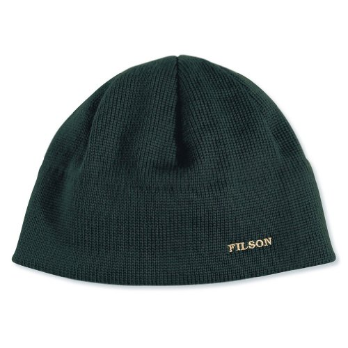 (Filson Unisex Wool Skull Cap Green Hat)