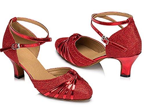 Joymod 35 Donna MGM 6cm Heel Red Sala Rosso 8qwdd0xUp