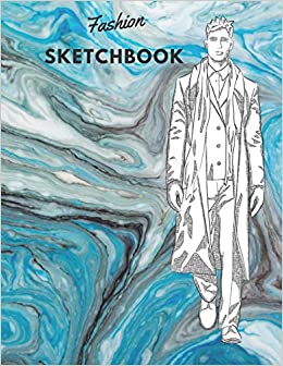 Buy Fashion Sketchbook 100 Large Male Figure Templates With 10 Different Poses For Easily Sketching Your Fashion Design Styles Book Online At Low Prices In India Fashion Sketchbook 100 Large Male