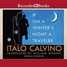 If on a Winter's Night a Traveler Audiobook by Italo Calvino Narrated by Jefferson Mays