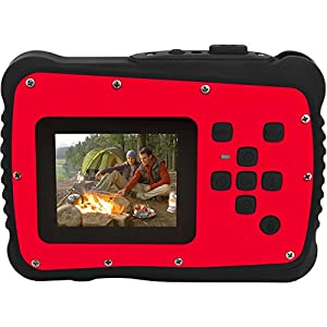 Coleman Xtreme C6WP HD Shock & Waterproof Digital Camera (Red) with 32GB Card + Case + Flex Tripod + Kit