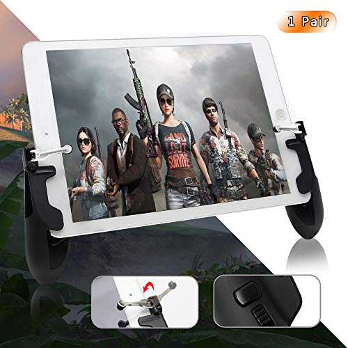 PUBG Mobile Controller for Ipad, COCASES Sensitive Shoot Aim Tablet Gamepad Rotatable Trigger,Upgraded G7 Version Compatible 4.5-12.9 inch Tablet & Smartphone (Survival Sure Grip Knife)