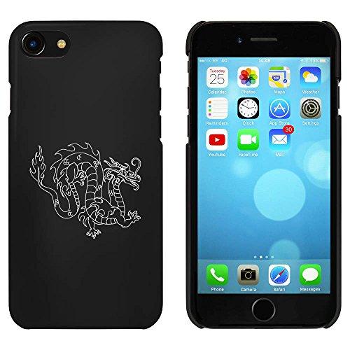 Noir 'Dragon Oriental' étui / housse pour iPhone 7 (MC00058667)