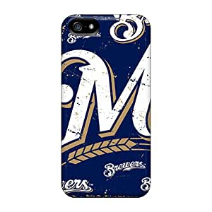 New Arrival Milwaukee Brewers Eap673eBgV Case Cover/ 5/5s Iphone Case