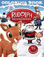 Rudolph The Red-Nosed Reindeer Coloring Book: