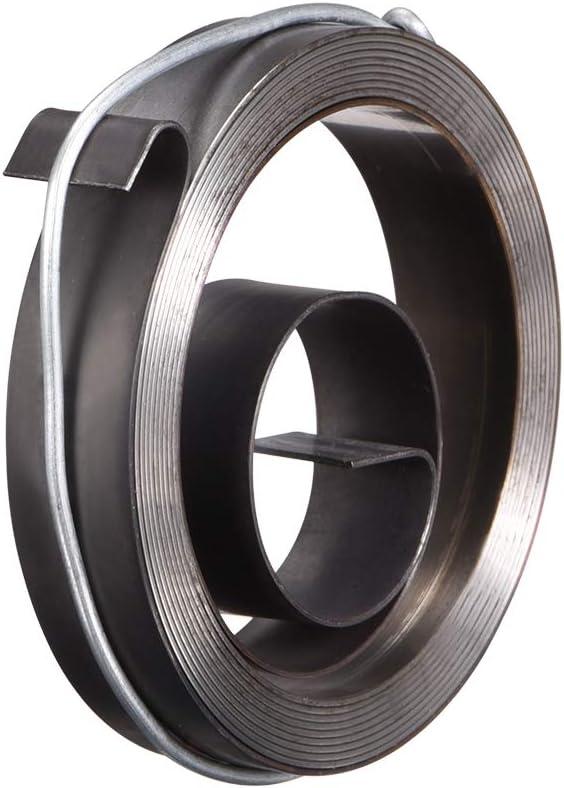 sourcing map perceuse colonne alimentation bobine Penne Ressort Assemblage 1500mm 45x12x0.4mm