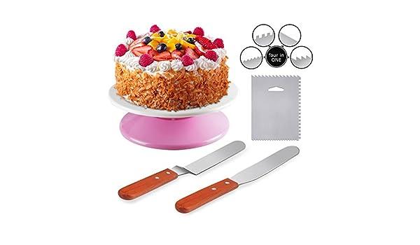 raypard para tartas Tocadiscos giratoria expositor para tartas con ...