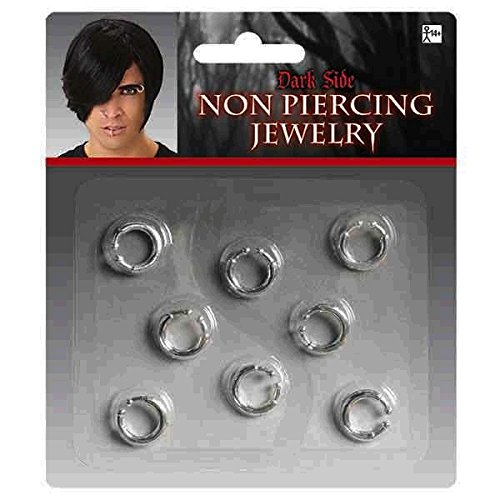 Non-costume Jewelry (Amscan Non-piercing Jewelry 8 pieces)