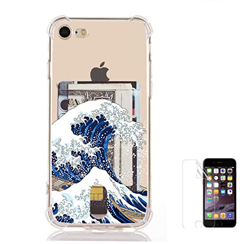 Japanese Wave Case Compatible for iPhone 8/7(4.7