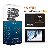ThiEYE 4K Action Camera Wifi Waterproof Sport Video Camera 12MP Full HD 2'' Screen with Multiple Modes, 170 Wide Angle, 197FT Waterproof, App Control and Full Accessories (i30+)