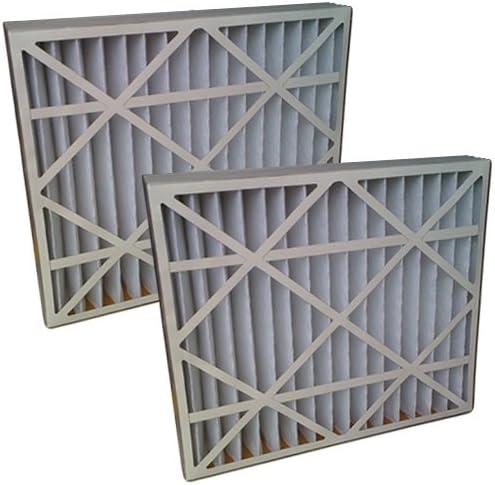 2-Pack 19.8x24.8x4.3 20x25x4//20x25x5 ULTRA 800 MERV 8 Bryant Replacement Air Filter