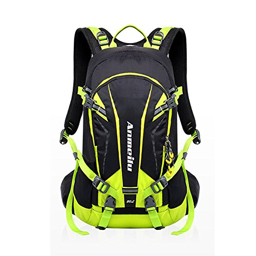 ANMEILU 20L Hydration Backpack + 2L Water Bladder Bag, Hydration Pack For Hiking, Climbing with Rain Cover