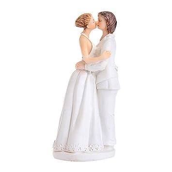 Landslide Romance Hochzeitstorte Top Homosexuell Paar Lesben