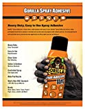 Gorilla Heavy Duty Spray Adhesive, Multipurpose and Repositionable, 14