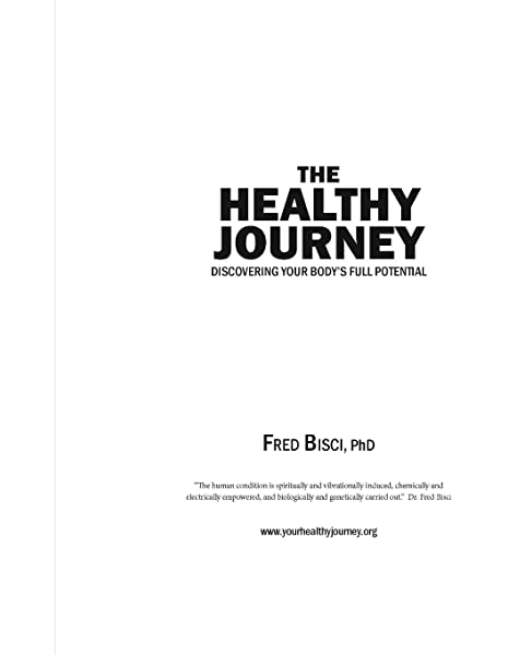 Your Healthy Journey Workbook Bisci Dr Fred 9781676352716 Amazon Com Books