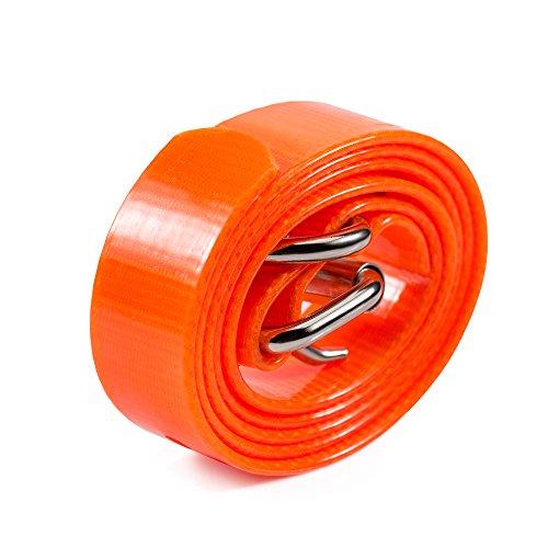 Paipaitek TPU Collar Adjustable Durable Waterproof Strap Replacement for PD520C 258 (Orange)