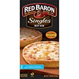 Red Baron Singles Deep Dish Four Cheese Pizza, 11.2 Ounce - 12 per case.