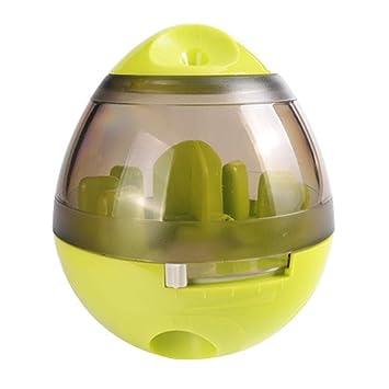 Bclaer72 Pelota de Comida para Mascotas, Bola de premios de IQ interactiva, dispensador de
